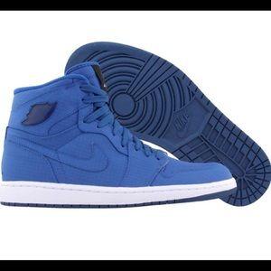 Air Jordan 1 Retro High Blue Sapphire Men's Sz 12
